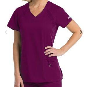 Grey's Anatomy Tops - Greys anatomy Wine scrub top